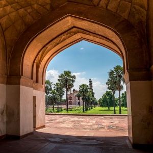 Entrance View Agra